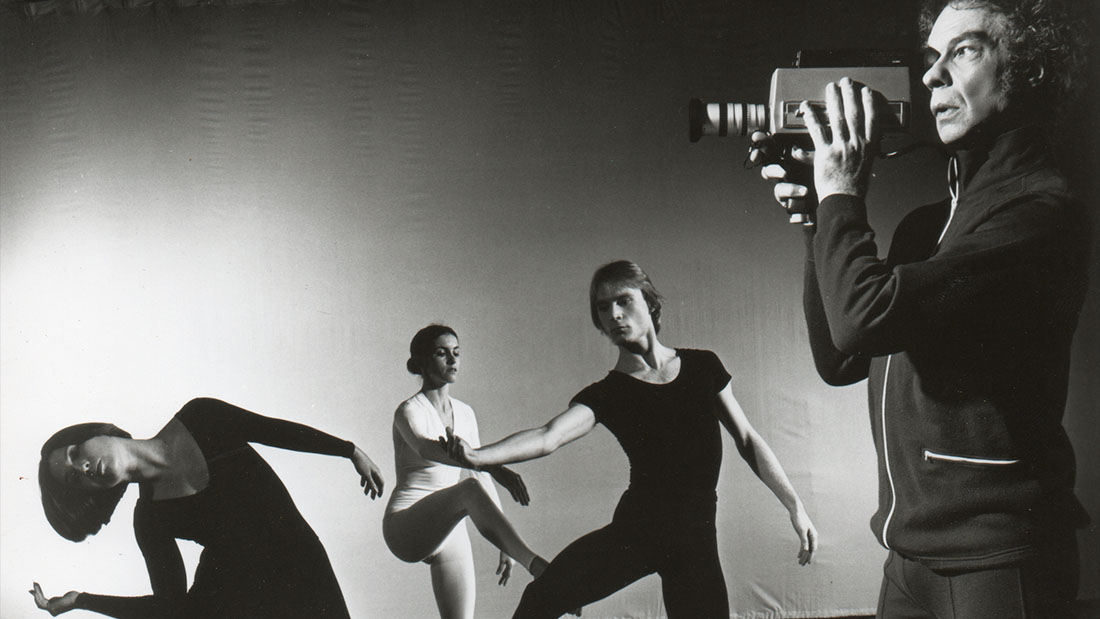 Merce Cunningham Dance Company in TV Photo by Jack Mitchell 1972