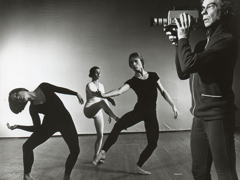Merce Cunningham Dance Company in TV Rerun Photo by Jack Mitchell 1972